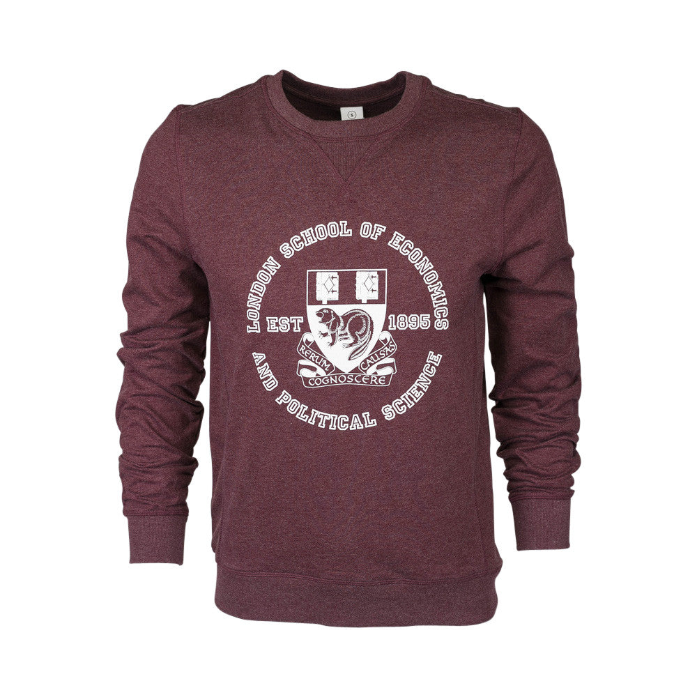 Fair Trade Sweatshirt Burgundy