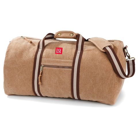 Canvas Holdall Bag - Sahara