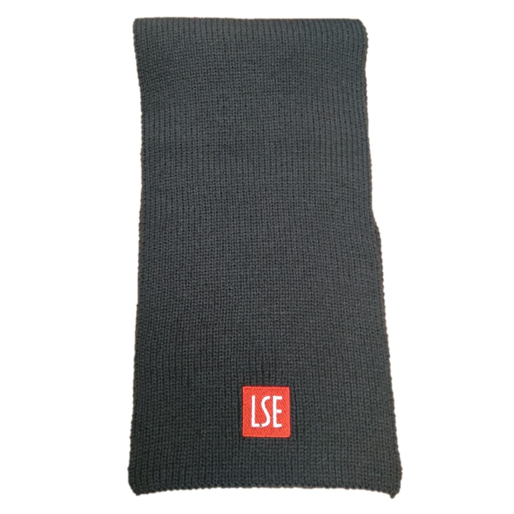 LSE Logo Charcoal Scarf