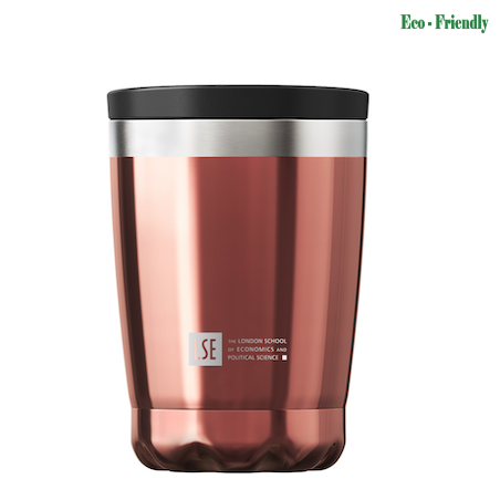 Chilly's Chrome Rose Gold Coffee Cup