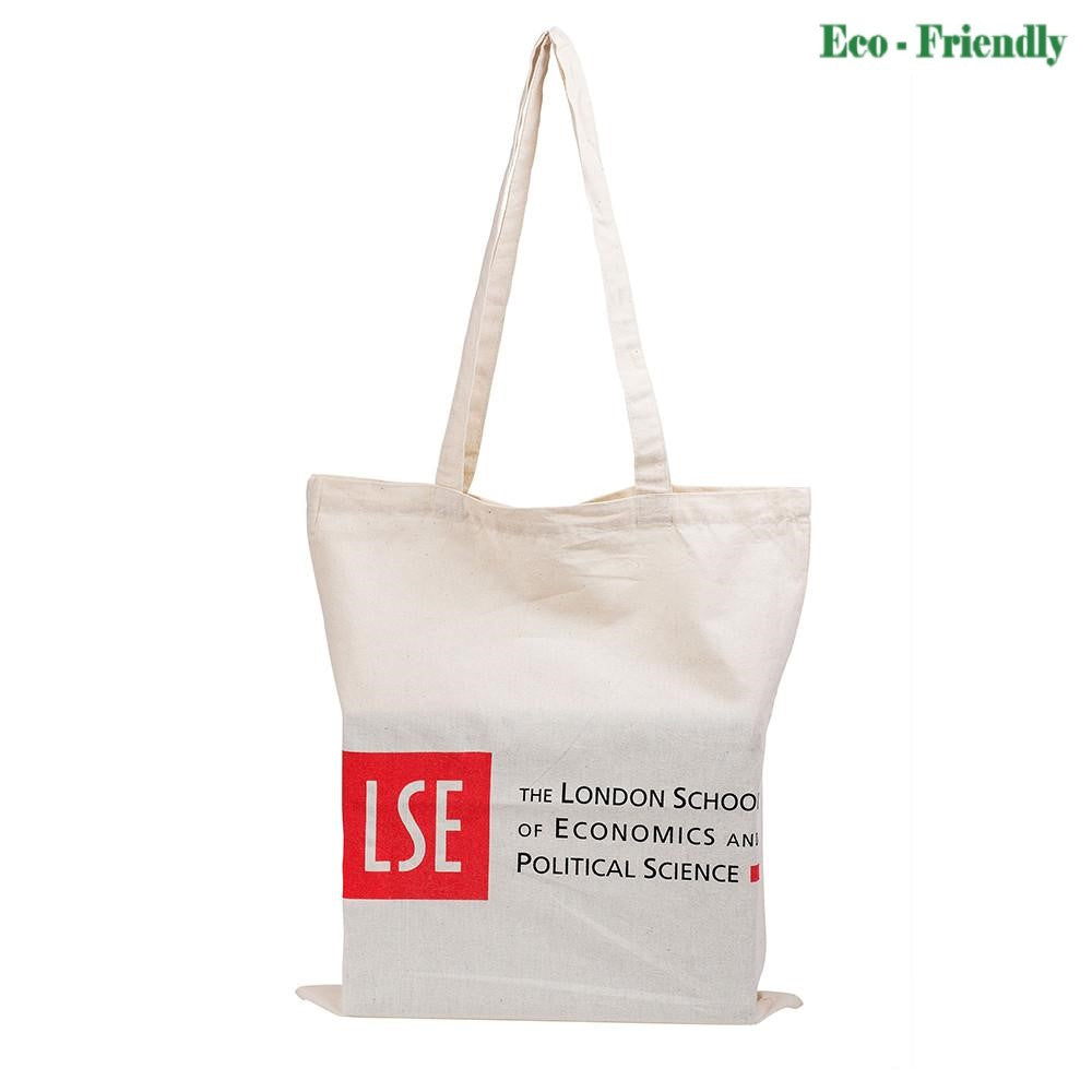 LSE logo cotton tote bag