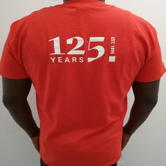 125 Years of LSE Red T-shirt