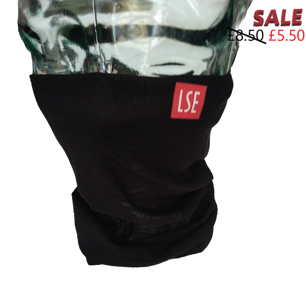 Neck gaiter - black.