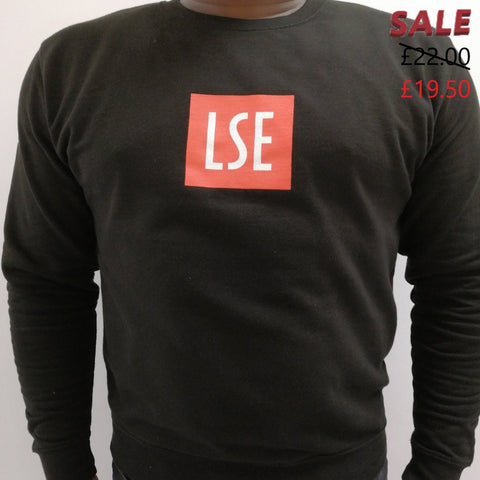 125 years of LSE Sweatshirt Black