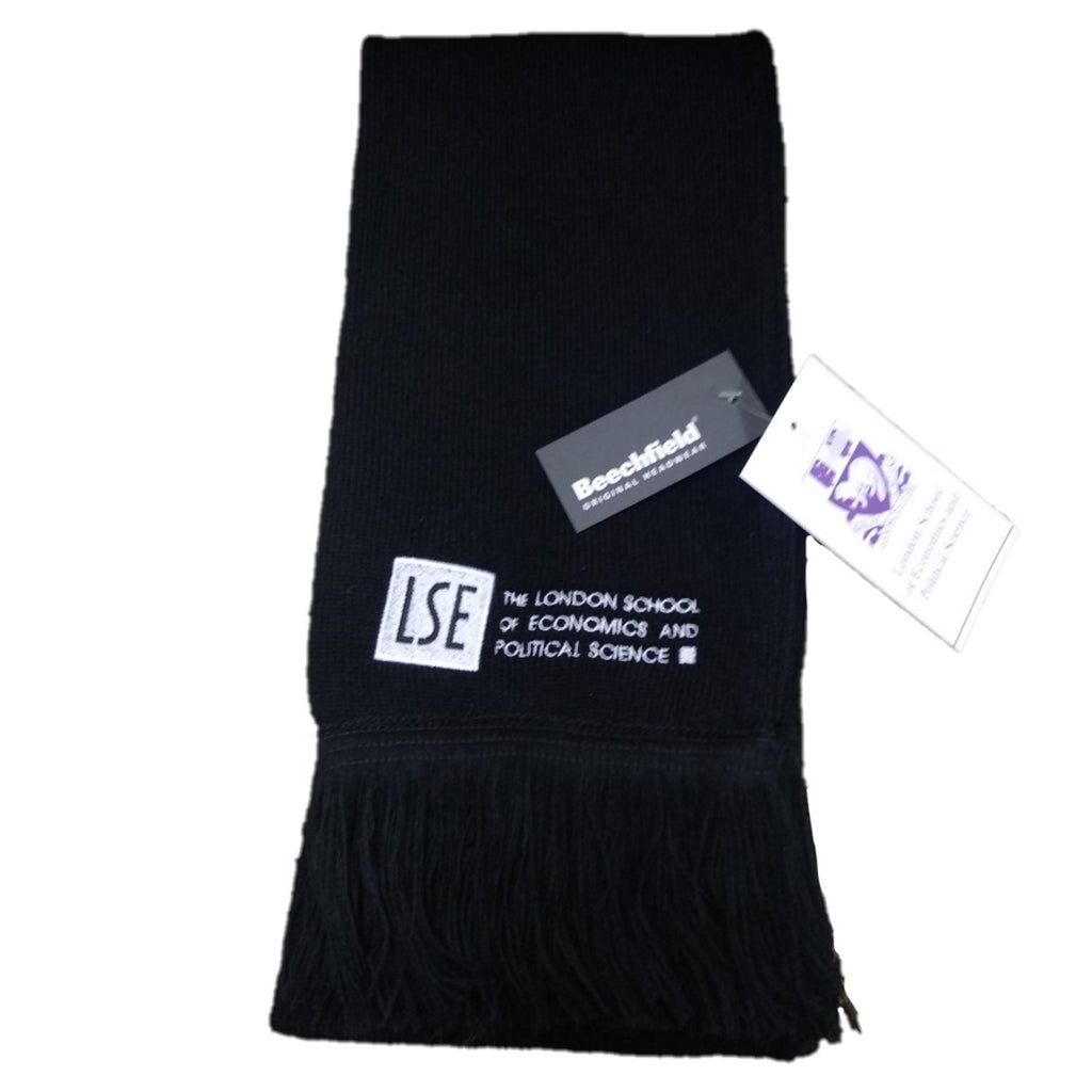 Embroidered LSE Logo Scarf