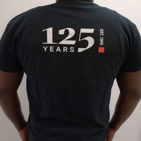 125Years LSE Black T-shirt
