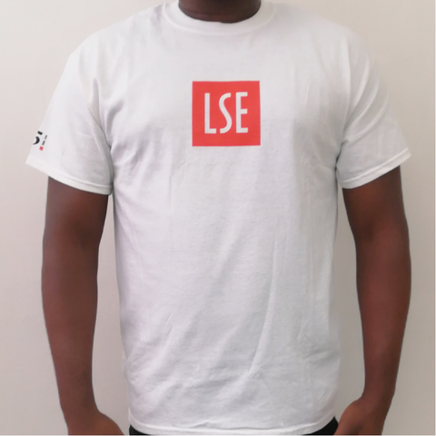 125 Years LSE White T-shirt
