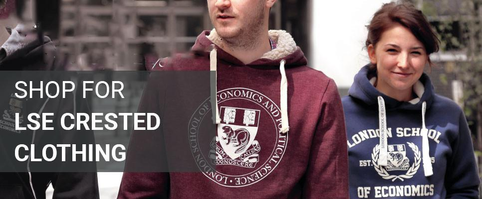Our exclusive range of LSE logo and crest clothing