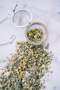 Sleep Tea, local to NC lavender and chamomile