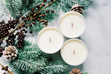 Load image into Gallery viewer, Peppermint + Pine Soy Candle