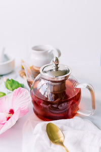 hibiscus and orange herbal tea great for cooling