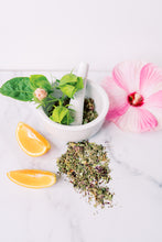 Load image into Gallery viewer, hot mama hibiscus hot flash tea for menopause symptoms and cooling