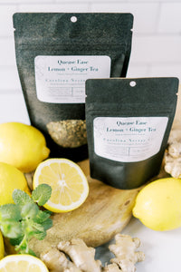 Nausea Relief Herbal Tea Lemon and Ginger
