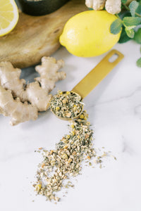 Loose Leaf Lemon and Ginger Organic Tea