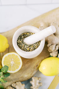 Nausea Herbal Remedy Tea - Lemon and Ginger