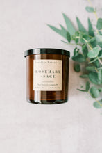 Load image into Gallery viewer, Rosemary + Sage Soy Candle