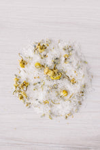 Load image into Gallery viewer, RELAX Chamomile + Lavender Herbal Bath Salts
