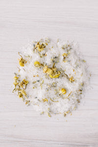 RELAX Chamomile + Lavender Herbal Bath Salts