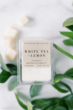 Load image into Gallery viewer, White Tea and Lemon Soy wax melts made in NC