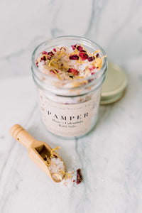 Pamper herbal bath salts