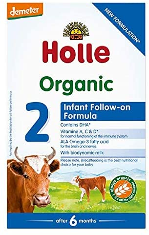 Holle Stage 2 Organic (Bio) from 6 months Follow-on Infant Milk Formula (600g)