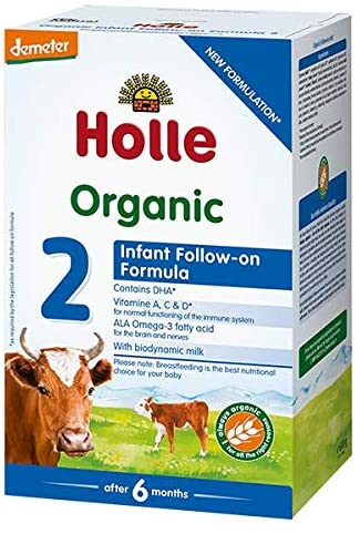 Holle Stage 2 Organic (Bio) from 6 months Follow-on Infant COW Milk Formula (600g)