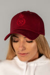 King of the Track Unisex Snapback - Burgundy