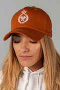 King of the Track Unisex Snapback – Toasted Peanut