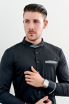 HAWK Long Sleeve Slim Fit Shirt