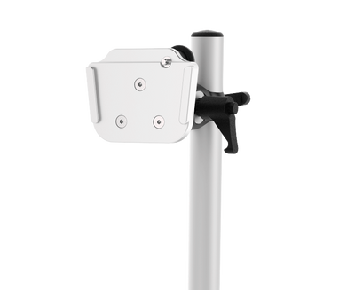 Tobii Dynavox ConnectIT Tabletop TS XL adaptable mounting system close-up