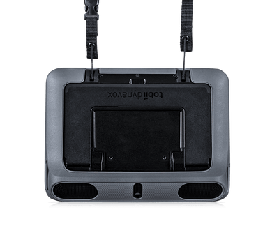 Shoulder Strap attached to Tobii Dynavox I-110 AAC device