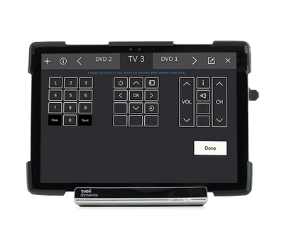 Tobii Dynavox Windows Control environmental controls feature