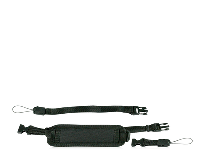Unconnected parts of the Shoulder Strap for your Tobii Dynavox AAC device