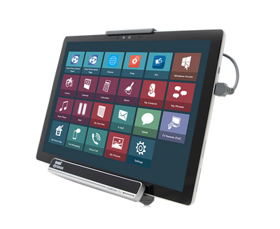 Tobii Dynavox EyeMobile Plus including Microsoft Surface Pro tablet featuring Communicator 5 AAC software