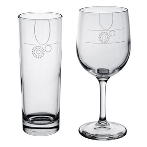 Load image into Gallery viewer, 4-pc Beverage Glass