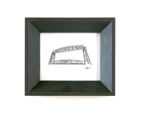 aerial lift bridge drawing united goods