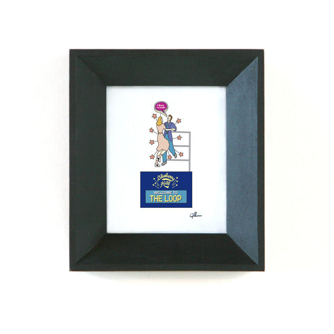 blueberry hill dance club framed picture