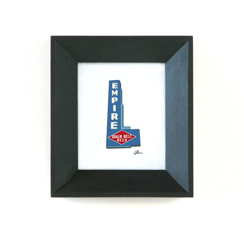 empire tavern sign print by united goods