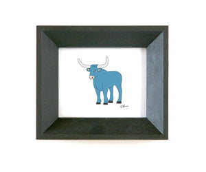 babe the blue ox wisconsin framed