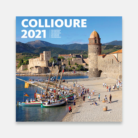 COLLIURE Calendario 2021 - Pared Pequeño Formato -