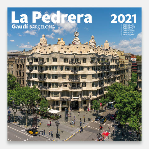 THE PEDRERA Calendar 2021 - Large Wall Calendar -