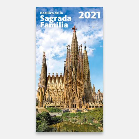 SAGRADA FAMILIA Calendar 2021 - Vertical Wall Planning -