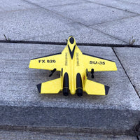 2.4G Glider Plane Hand Throwing foam drone SU35 RC airplane model Fixed wing toy aviones a control remoto juguete toys for boys