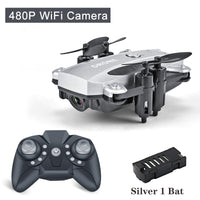 Drone Mini Dron Selfie RC Quadcopter Camera HD 1080P Wifi FPV Dron Foldable Altitude Hold RC Helicopter Drones Professional Toy