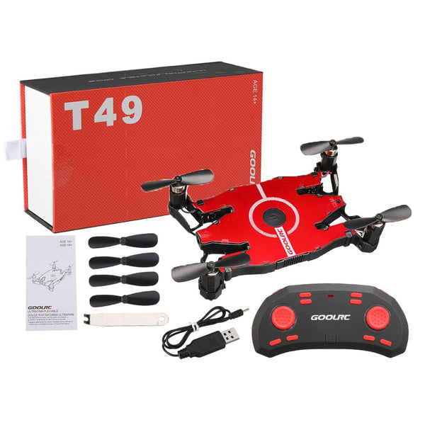 JJR/C JJRC T49 SOL Ultrathin Wifi FPV Selfie Drone 720P Camera Auto Foldable Arm Altitude Hold RC Quadcopter VS H37 H47 E57