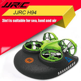 JJRC H94 2.4G 6-Axis 3-in-1 Sea Land Air RC Quadcopter Remote Control Vehicle RC Boat RC Mini Drone VS RC Drone Remote Control