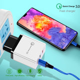 OLAF Quick Charge 3.0 USB Charger For iPhone X QC 3.0 Fast Charging EU US Plug Wall Phone Charger For Samsung S10 S9 Xiaomi Mi9