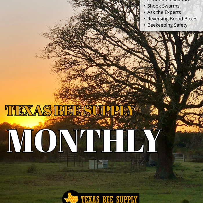 Texas Bee Supply Monthly Magazine- January 2021