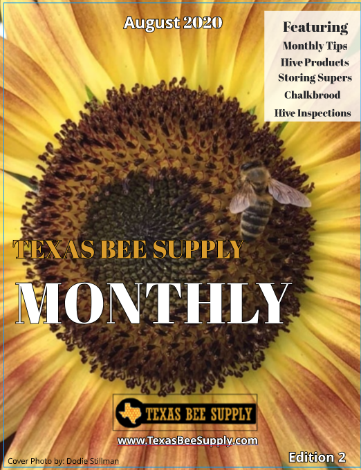 Texas Bee Supply Monthly Magazine - August 2020