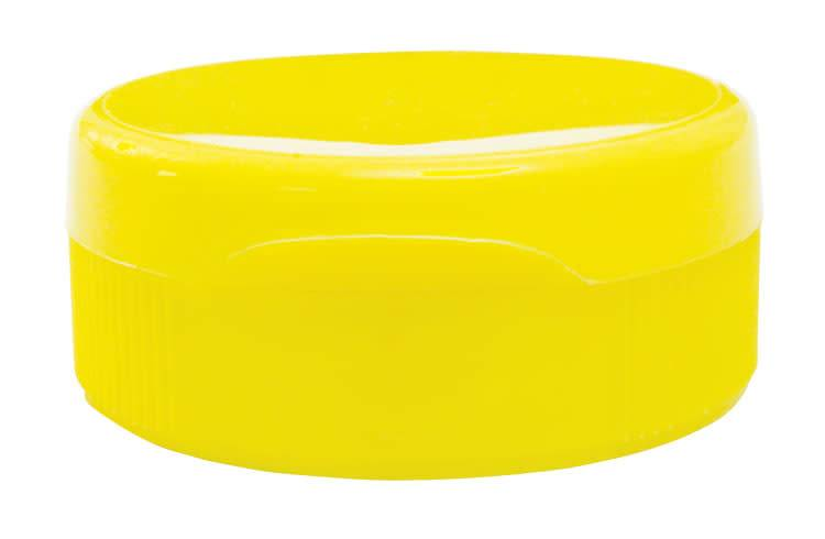 12 pack yellow flip top lids